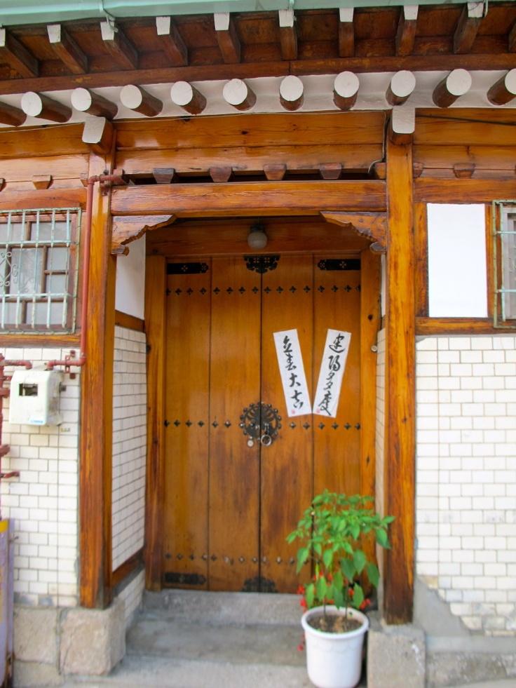 Hanok Doors Korean Doorway Korean Things Pinterest