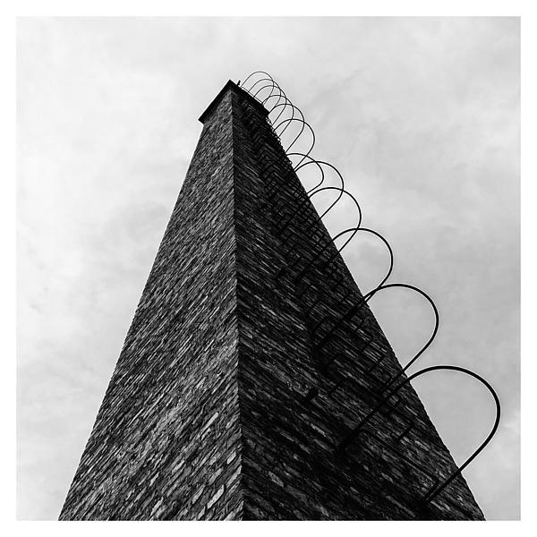 Chimney - by Attila Simon #architecture #photography #FineArt #b&w #BlackAndWhite #interiordesign