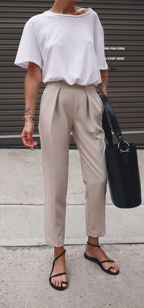 Comment porter des tailleurs en look décontracté
