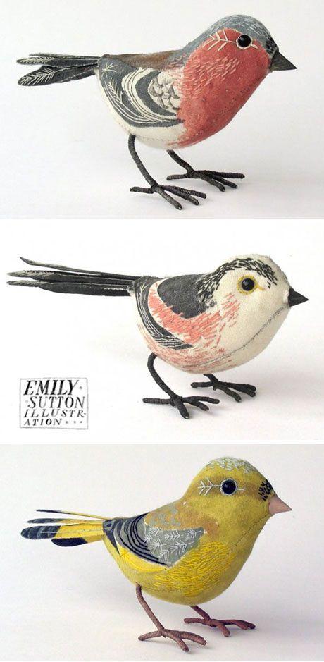 little birds by artist emily sutton