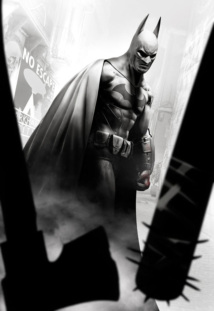 Arkham City art /// Batman