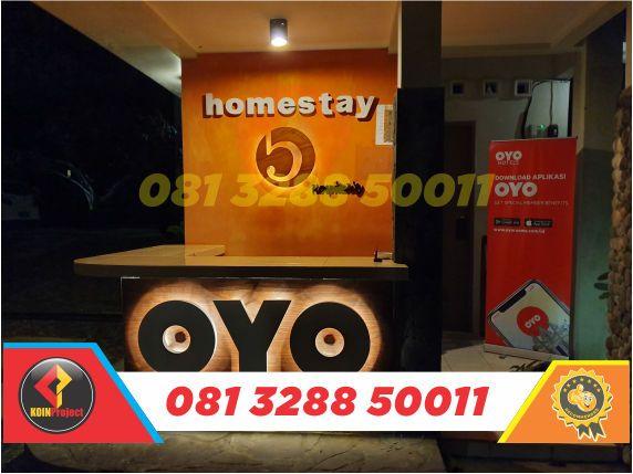 Huruf Timbul Oyo Rooms Indonesia Huruf