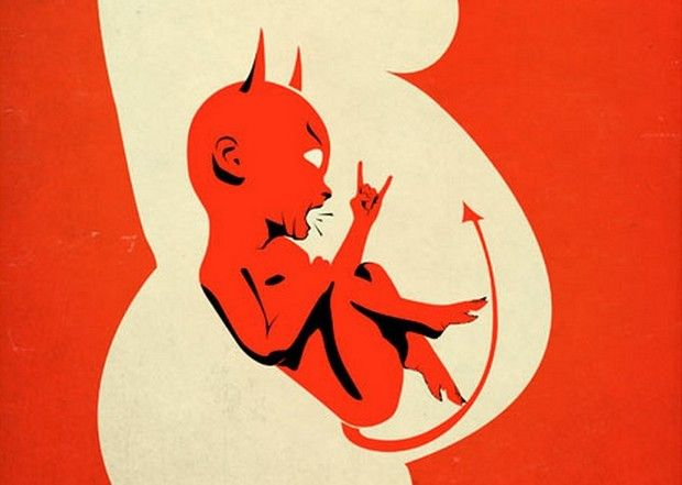 Hell Baby, poster