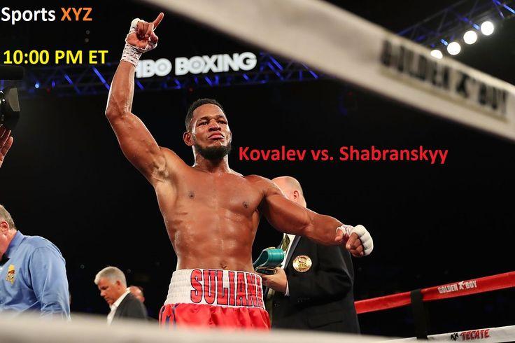 Kovalev vs. Sharbranskyy Fight Night