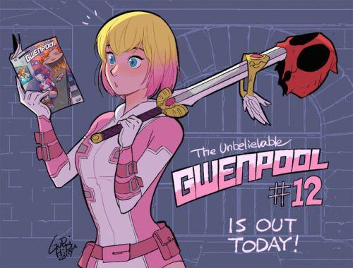 The Unbelievable Gwenpool #12 - Gurihiru
