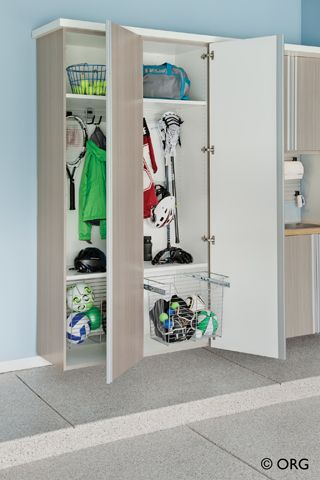 Garage And Shed Sports Storage Design Ideas, Pictures, Remodel And Decor