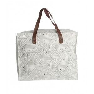 Shopping Bag Triangles - House Doctor - Fleux'