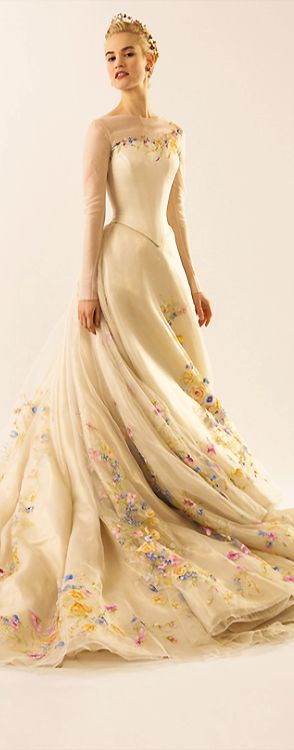 First Look: The Making of Cinderella's Wedding Gown