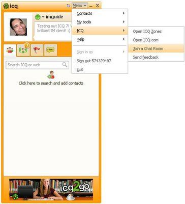 http://im.about.com/od/advancedimfeatures/ss/icq-chat-rooms.htm
