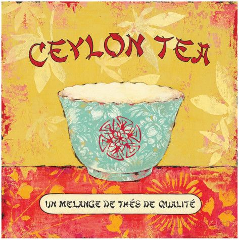 Ceylon Tea Prints by Stefania Ferri at AllPosters.com