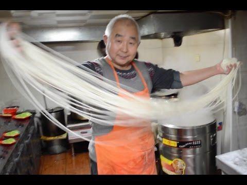 Od kuchni: Jak sie robi chińskie noodle? || Chinese hand pulled noodles ...