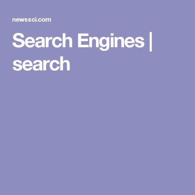 Search Engines | search