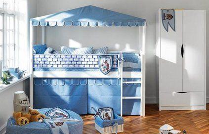 Des lits cabanes pour les enfants aventureux