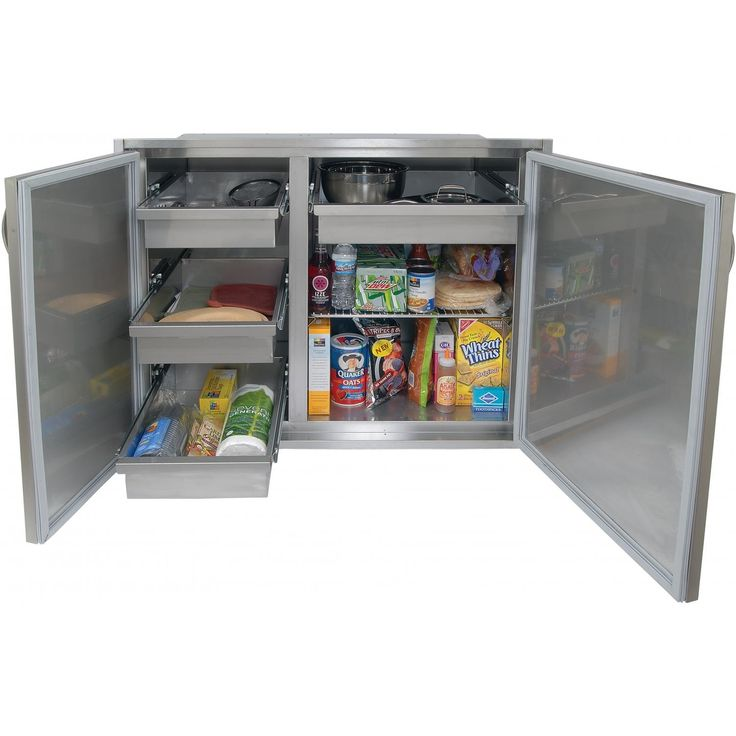 Outdoor Grill Storage Cabinet