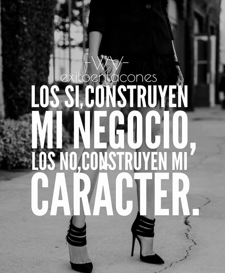 "Que cada ""NO"", te impulse a ir por TODO!!! -WV- Síguenos por Instagram @exitoentaconeswv #exitoentacones #frase #motivacion #dequeestashecha #exito #liderazgo #mujerimparable #entrepreneur"