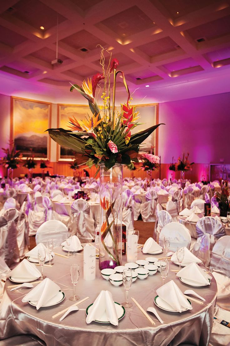 10 best 2015 Ball Theme images on Pinterest | Tropical centerpieces ...