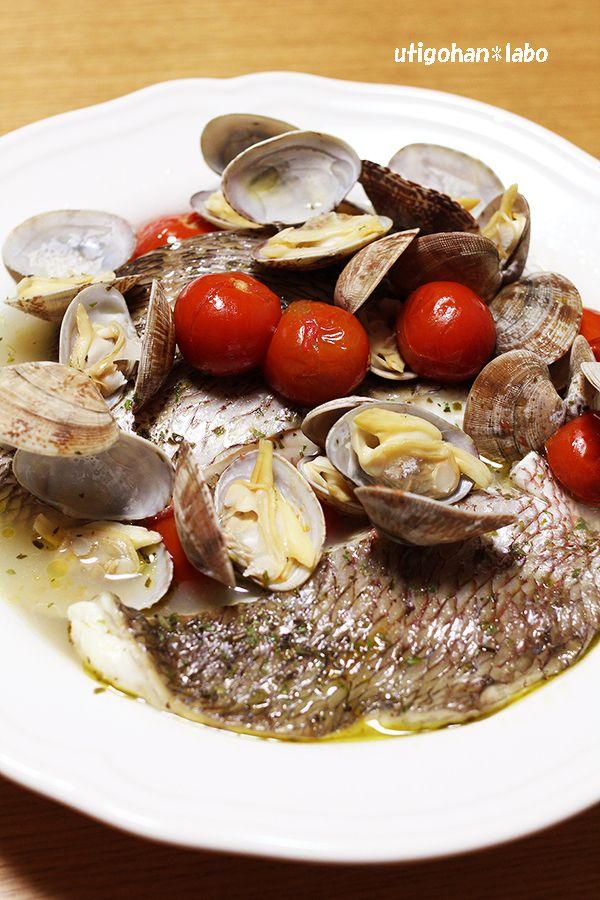 圧力鍋で5分!切り身の鯛でアクアパッツァ by さいとうあきこ | レシピ ...