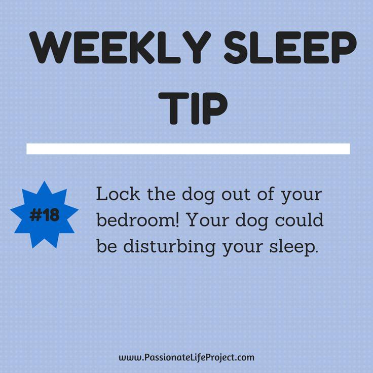Sleep Tip #18