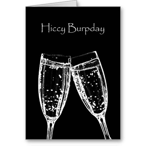 Happy Birthday - Hiccy Burpday