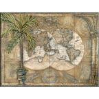 Tile Mural - World Map - Kitchen Backsplash Ideas - Traditional - Tile Murals - by The Tile Mural Store (USA)