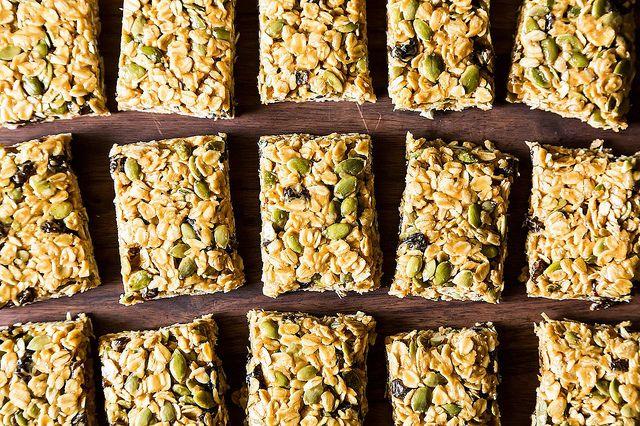 Vegan no bake granola bars