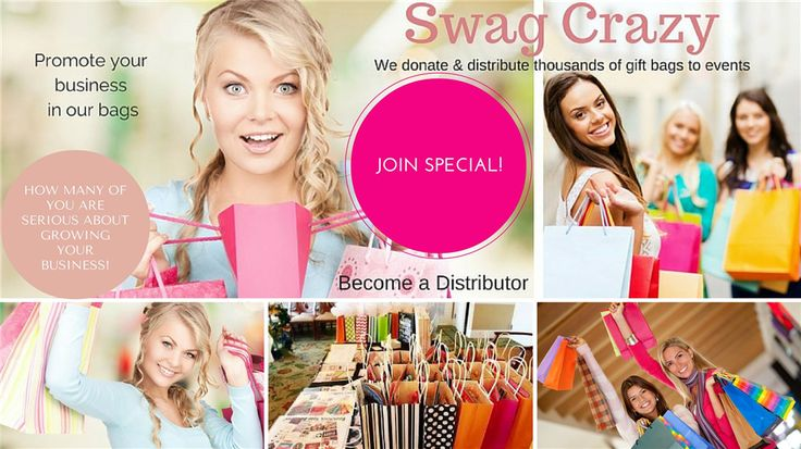 Many large events to fill. I am looking for any small business & representatives of 👜Posh 💄Avon 💅Jamberry 💍Paparazzi 🎁Pink Zebra 👛Thirty-One 🍫Dove Chocolate 💄Younique 💼Damsel in Defense 💎Origami Owl 🚨Scentsy 🎂 Pampered Chef 💍Stella and dot 🍵Steeped Tea 🍦Pure Romance 🐶Pawtree & more! We donate & distribute gift bags at events, fundraisers, business surprise drop-ins and more! Get your business in the bags for $10. www.swagcrazy.com/join www.facebook.com/theswagcraze  We are…