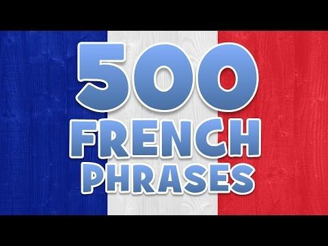 ideas about Phrases In French on Pinterest   French For