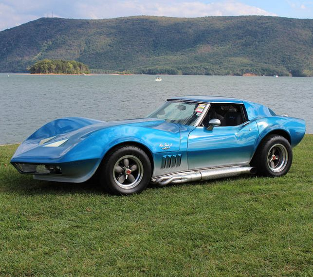 Deadly Chevy Corvette C3 Maco Shark. Are it's looks as deadly as it's bite? Click the image to find out! #MusclecarMonday