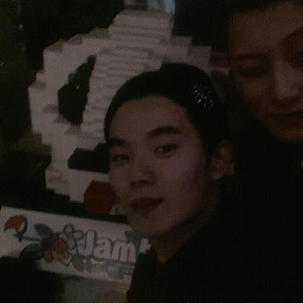 [INSTAGRAM]141116 hyunbbbbb Update - with Tao