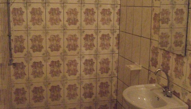 My bathroom in the hotel in Bujumbura