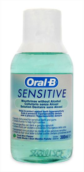 Oral B Sensitive Mouth-Rinse 300ml Oral B Sensitive Mouth-Rinse 300ml: Express Chemist offer fast delivery and friendly, reliable service. Buy Oral B Sensitive Mouth-Rinse 300ml online from Express Chemist today! (Barcode EAN=301426073 http://www.MightGet.com/january-2017-11/oral-b-sensitive-mouth-rinse-300ml.asp