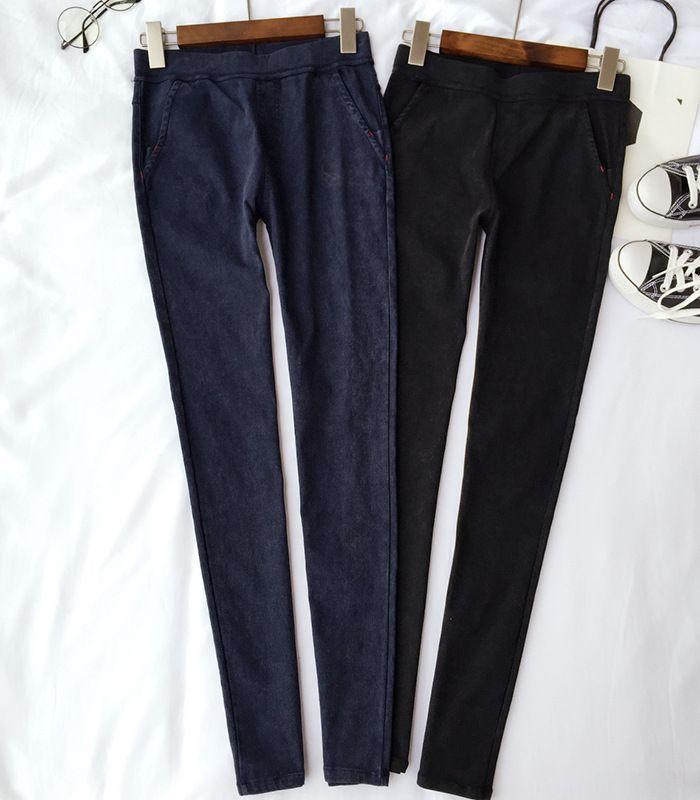 953 руб https://ru.itao.com/item/6971690328 Американский одежды осень мода женские джинсы леггинсы панк готический фитнес брюки брюки свободного покроя тренировки Pantalones Mujer легинсы купить на AliExpress