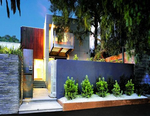 contemporary landscaping ideas for front of house - Google Search