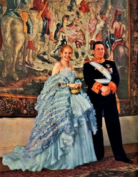 ПЕРВАЯ ЛЕДИ  Эва Дуарте де Перон, первая леди Аргентины Хуан Доминго Перон, Президент Аргентины