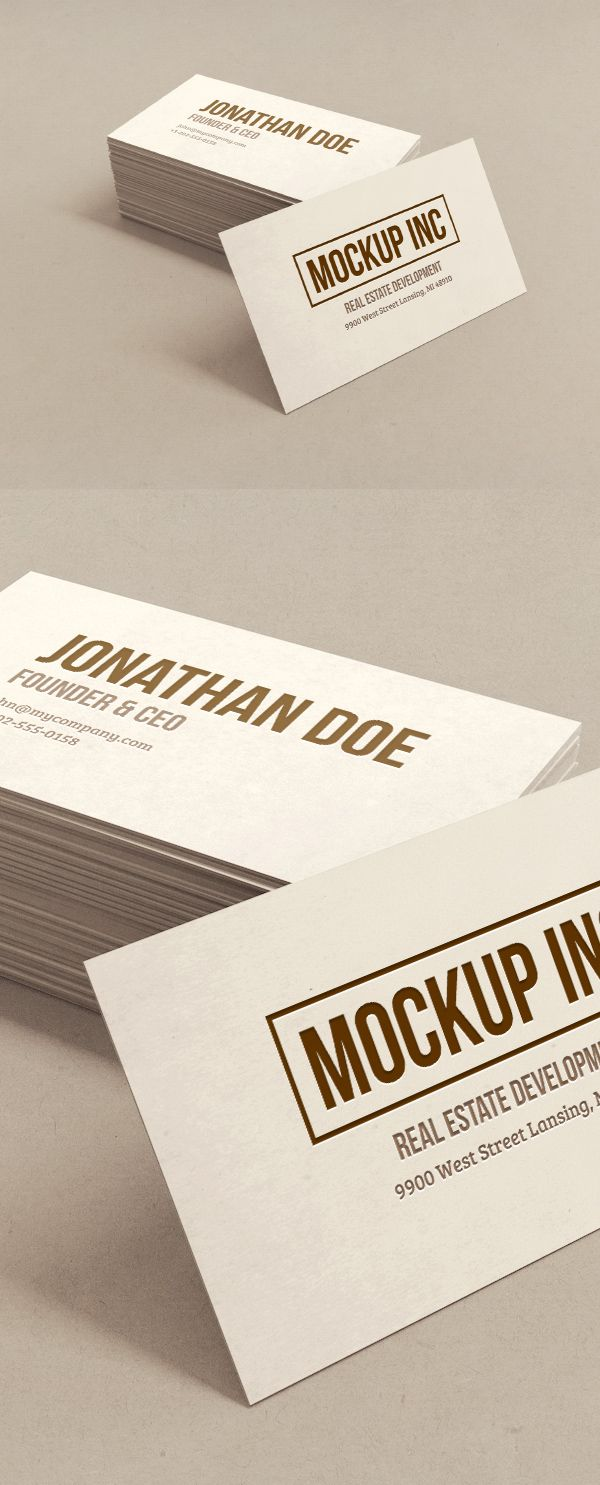 Free Business Card Mockup | alienvalley.com | #free #mockup #photoshop