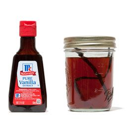 Home made vanilla extract...cheaper and delicious!