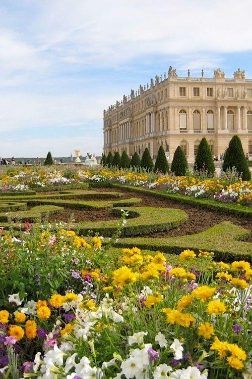 Summer garden at Versailles, France