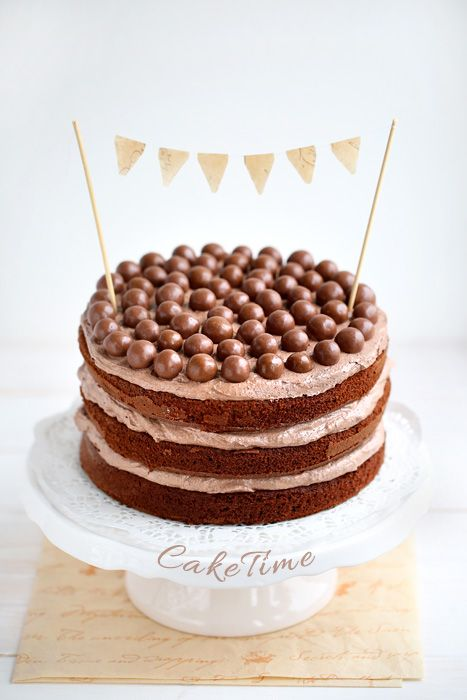 nigella maltesers cake / tort czekoladowy z maltesers