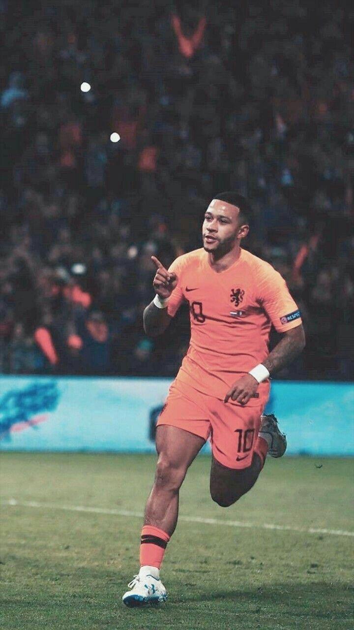 Wallpaper Football Depay Netherlands Lyon Barcelona Iphone
