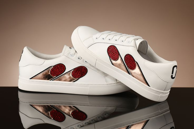 Want to get your fingers on these Lulu Guinness sneakers!