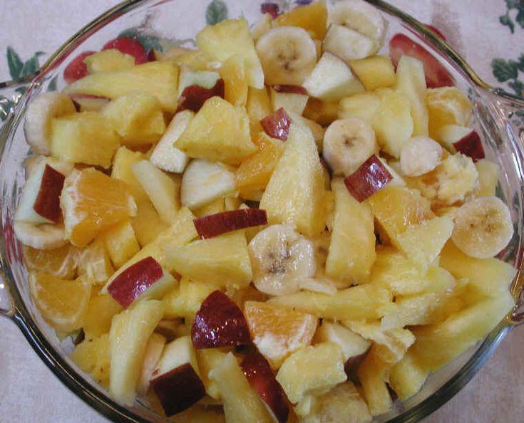 Gourmet fruit salads recipes