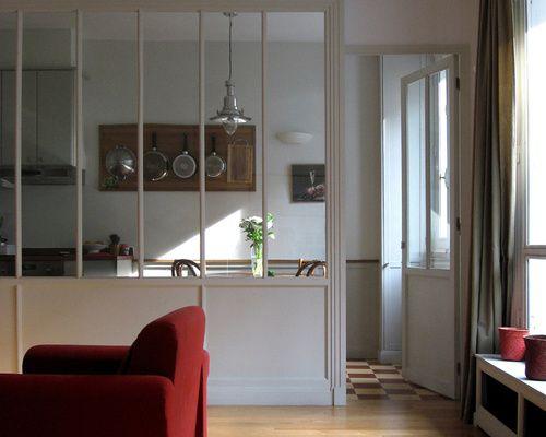 Verrière en bois, La manufacture nouvelle, 105 rue Lamarck 75018 Paris