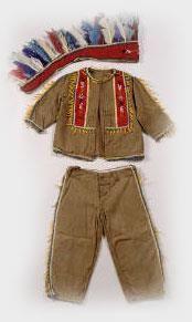Сделать самостоятельно костюм индейца