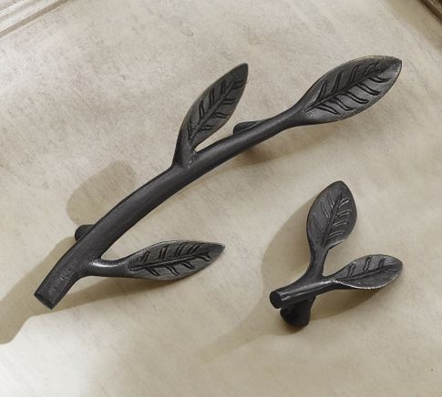 Leaf Hardware Pottery Barn Finishing Touch Pinterest Hardware Pottery And Barn