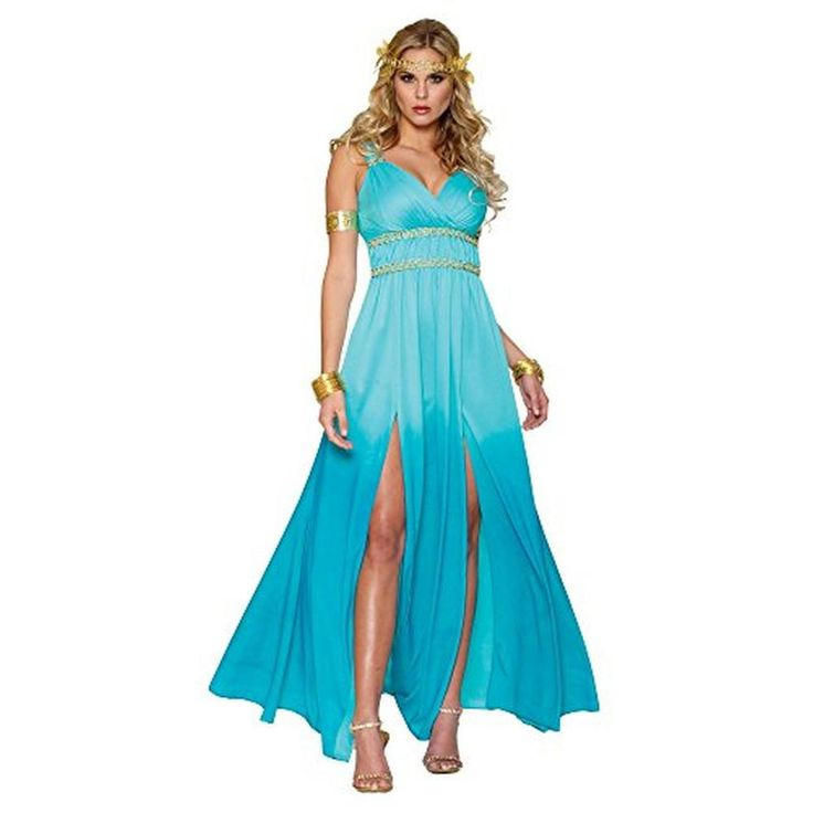 Costume Culture Womens Aphrodite Halloween Party Greek Goddess Costume from BHFO.