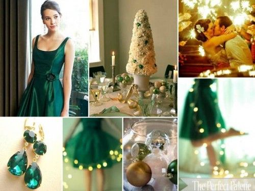 winter wedding color themes....or forest colors....hmmmm teal.
