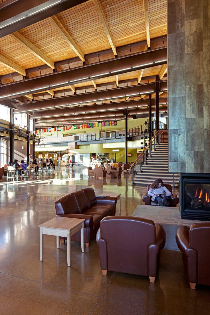 YELLOW JACKET UNION UNIVERSITY OF WISCONSIN Superior Wisconsin Workshop Architects