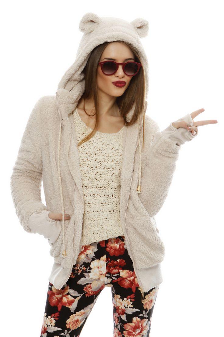 Teddy Bear Style Jacket