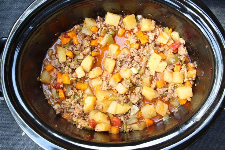 Crockpot Mexican Picadillo
