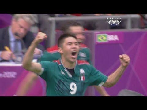 Mexico 2 -1 Brazil - Football Gold Medal Match Highlights | London 2012 ...